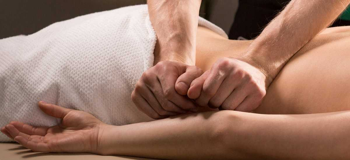 Soothing massage therapy