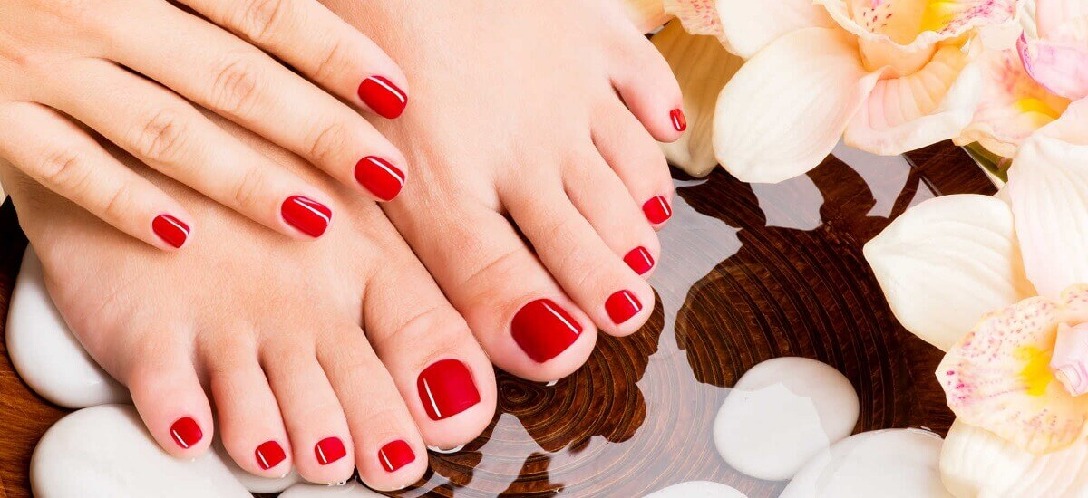 A Spa Pedicure Treatment
