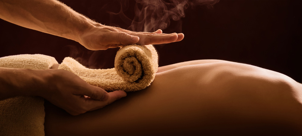 Full Body Massage With Towel